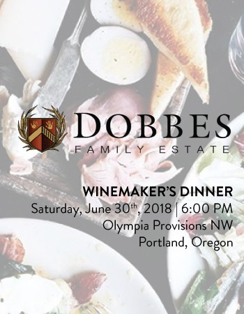 Olympia Provisions Winemaker's Dinner - June 30th, 2018