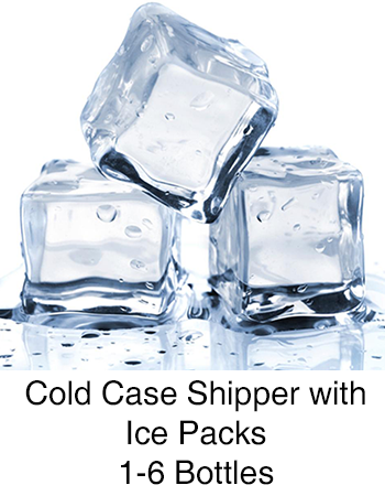 ICE Cold Case Shipper 1-6 Bottles